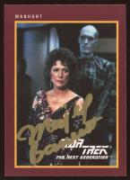 Majel Barrett Signed Manhunt 1991 Star Trek 25th Anniversary #168 (JSA COA) at PristineAuction.com