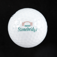 Arnold Palmer Signed Stonebridge Logo Golf Ball (Beckett LOA) at PristineAuction.com