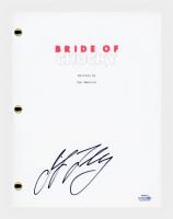 "Jennifer Tilly Signed ""Bride of Chucky"" Movie Script (AutographCOA COA) at PristineAuction.com"