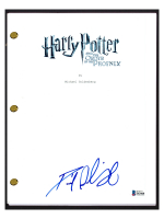 """Daniel Radcliffe Signed """"Harry Potter and the Order of the Phoenix"""" Movie Script (Beckett COA) at PristineAuction.com"""