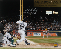 "Magglio Ordonez Signed LE Tigers 16x20 Photo Inscribed ""2006 ALCS Walk Off HR"" (Beckett COA) at PristineAuction.com"