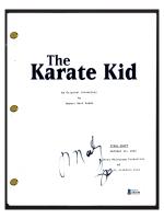 "Martin Kove Signed ""The Karate Kid"" Movie Script (Beckett COA) at PristineAuction.com"