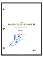 "Josh Hutcherson Signed ""The Hunger Games"" Movie Script (Beckett COA) at PristineAuction.com"
