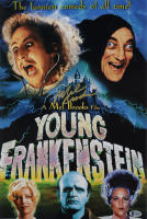 "Mel Brooks Signed ""Young Frankenstein"" 12x18 Poster Print (Beckett COA) (See Description) at PristineAuction.com"