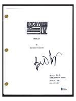 "Burt Young Signed ""Rocky IV"" Movie Script (Beckett COA) at PristineAuction.com"