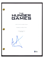 """Alexander Ludwig Signed """"The Hunger Games"""" Movie Script (Beckett COA) at PristineAuction.com"""