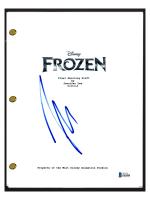 """Josh Gad Signed """"Frozen"""" Movie Script (AutographCOA COA) at PristineAuction.com"""