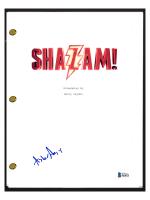 "Asher Angel Signed ""Shazam"" Movie Script (Beckett COA) at PristineAuction.com"