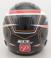 Kyle Larson Signed 2020 Indiana Midget Week Champion Exclusive Full-Size Helmet (PA COA) at PristineAuction.com