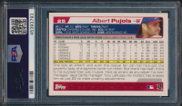 Albert Pujols Signed 2004 Topps Opening Day #25 (PSA Encapsulated) at PristineAuction.com