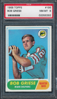 Bob Griese 1968 Topps #196 RC (PSA 8) at PristineAuction.com