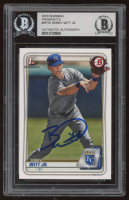 Bobby Witt Jr. Signed 2020 Bowman Prospects #BP25 (BGS Encapsulated) at PristineAuction.com