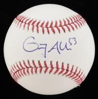 Greg Allen Signed OML Baseball (PSA COA) at PristineAuction.com