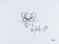 """Mark Henn Signed """"The Lion King"""" 8x10 Hand-Drawn Sketch (Beckett COA) at PristineAuction.com"""
