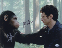 "Andy Serkis & James Franco Signed ""Rise of the Planet of the Apes"" 11x14 Photo (Beckett COA) (See Description) at PristineAuction.com"