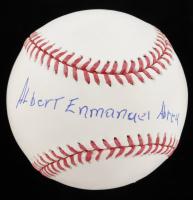 Albert Abreu Signed OML Baseball (PSA COA) at PristineAuction.com