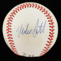 Mike Scott Signed ONL Baseball (PSA Hologram) at PristineAuction.com