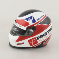 Christopher Bell Signed 2020 Chili Bowl Exclusive 1:3 Scale Mini Helmet (PA COA) (See Description) at PristineAuction.com