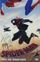 "Post Malone Signed ""Spider-Man: Into the Spider-Verse"" 11x17 Photo (Beckett COA) at PristineAuction.com"