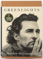 "Matthew McConaughey Signed ""Greenlights"" Hardcover Book (Beckett COA) at PristineAuction.com"