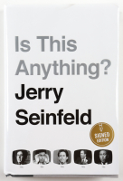 """Jerry Seinfeld Signed """"Is This Anything?"""" Hardcover Book (Beckett COA) at PristineAuction.com"""