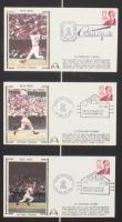 Pete Rose Signed Reds 13x27 Custom Framed Photo Display With Vintage 1970s Pete Rose Postcards (JSA COA & Rose Hologram) at PristineAuction.com