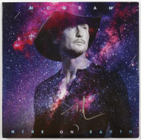 "Tim McGraw Signed ""Here On Earth"" Vinyl Record Album (Beckett Hologram) (See Description) at PristineAuction.com"