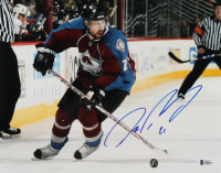 Peter Forsberg Signed Avalanche 11x14 Photo (Beckett COA) at PristineAuction.com