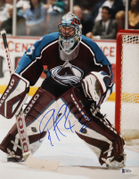 Patrick Roy Signed Avalanche 11x14 Photo (Beckett COA) at PristineAuction.com