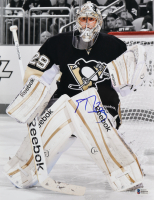 Marc-Andre Fleury Signed Penguins 11x14 Photo (Beckett COA) at PristineAuction.com
