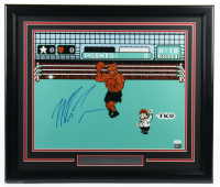 "Mike Tyson Signed ""Punch-Out!!"" 22.5x26.5 Custom Framed Photo Display (JSA COA & Fiterman Sports Hologram) (See Description) at PristineAuction.com"