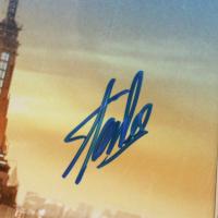 """Stan Lee Signed """"Spider-Man"""" 23.5x27.5 Custom Framed Poster Display (JSA Hologram & Lee Hologram) (See Description) at PristineAuction.com"""
