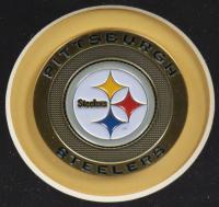 "Jack Ham, Jack Lambert & Andy Russell Signed Steelers 25x27 Custom Framed Photo Display Inscribed ""HOF 88"" & ""HOF '90"" (JSA COA) at PristineAuction.com"