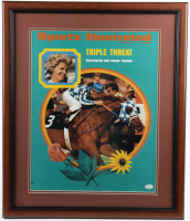 Ron Turcotte Signed 1973 Sports Illustrated Cover 22.5x26.5 Custom Framed Photo Display (JSA COA) at PristineAuction.com