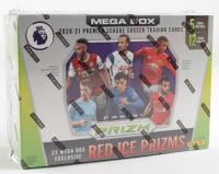 2020-21 Panini Prizm Premier League Soccer Mega Box with (12) Packs at PristineAuction.com