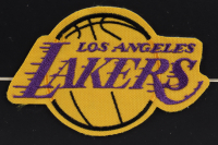 """Jerry West Signed Lakers 23x24 Custom Framed Photo Display Inscribed """"The Logo"""" with Cloth Patch (JSA COA) at PristineAuction.com"""