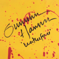 """Gunnar Hansen Signed """"The Texas Chainsaw Massacre"""" Apron Inscribed """"Leatherface"""" (Beckett LOA) (See Description) at PristineAuction.com"""