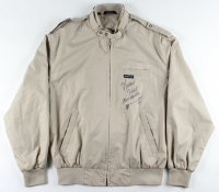 "Henry Hill Signed ""Goodfellas"" Vintage Jacket Inscribed ""Goodfella"" with Hand-Drawn Sketch (Beckett COA) (See Description) at PristineAuction.com"