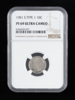 1981-S Roosevelt Dime (NGC PF69 Ultra Cameo) at PristineAuction.com