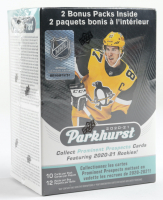 2020-21 Parkhurst Hockey Blaster Box with (12) Packs at PristineAuction.com