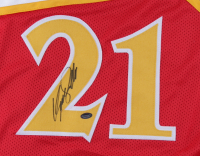Dominique Wilkins Signed Jersey (Schwartz Sports COA) at PristineAuction.com