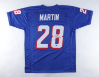 Curtis Martin Signed Jersey (Schwartz Sports COA) at PristineAuction.com