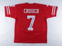 """Eric Crouch Signed Jersey Inscribed """"2001 Heisman"""" (Schwartz Sports COA) at PristineAuction.com"""