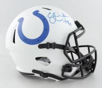 "Eric Dickerson Signed Colts Full-Size Lunar Alternate Speed Helmet Inscribed ""HOF 99"" (Beckett Hologram) at PristineAuction.com"