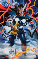 "Greg Horn Signed Beta Ray Bill ""Black Winter"" 11x17 Lithograph (JSA COA) at PristineAuction.com"