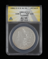 1882-O/S Morgan Silver Dollar. VAM-3 Top 100 (ANACS AU55 Details) at PristineAuction.com