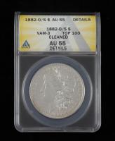 1882-O/S Morgan Silver Dollar. VAM-3 Top 100 (ANACS AU55 Details) at PristineAuction.com