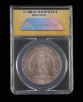 1881-S Morgan Silver Dollar (ANACS MS64) (Toned) at PristineAuction.com