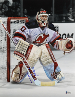Martin Brodeur Signed Devils 11x14 Photo (Beckett COA) at PristineAuction.com