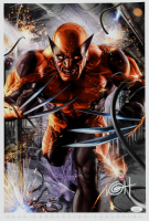 """Greg Horn Signed """"Wolverine"""" 13x19 Lithograph (JSA COA) at PristineAuction.com"""